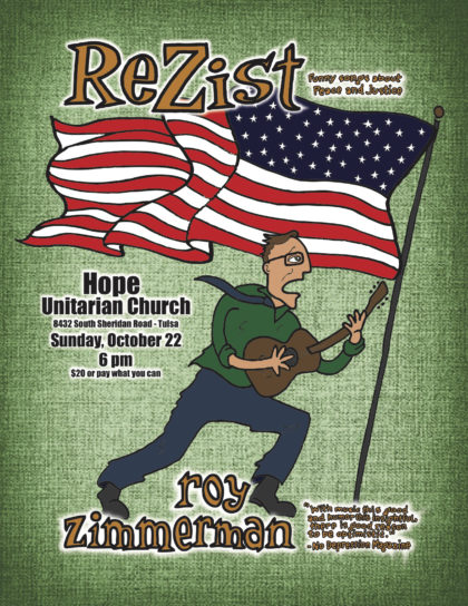 Roy Zimmerman - Rezist! Funny songs about Peace and Justice
