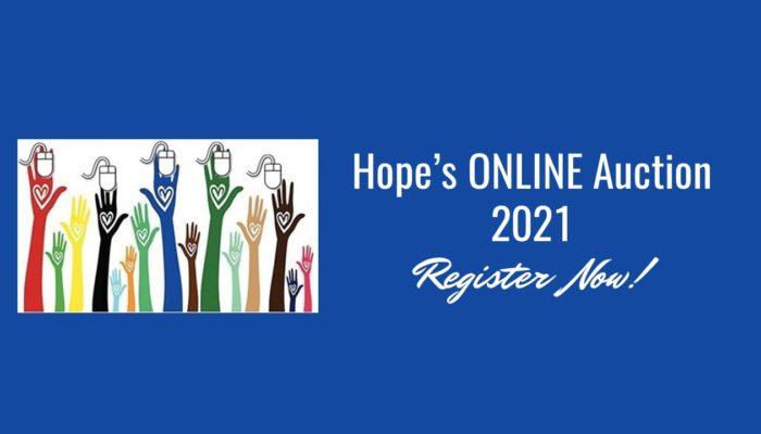 Hope's Online Auction 2021